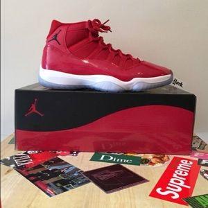 Win like 96 Jordans (Gym Red)